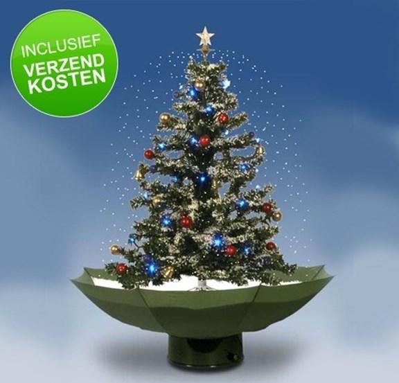 Nieuw Unieke Sneeuwende Kerstboom
